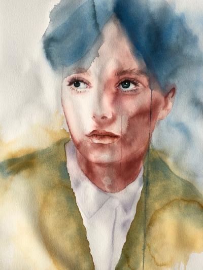 Lotte  Alisha Rich  Watercolour  300 gsm paper 560mm x 760mm