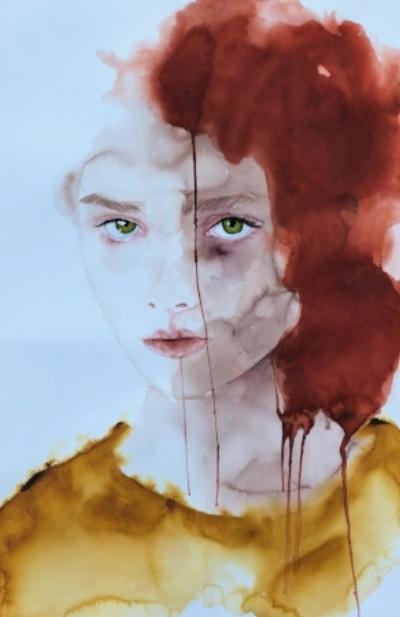 Truth Speak  Alisha Rich  Watercolour  300 gsm paper 560mm x 760mm