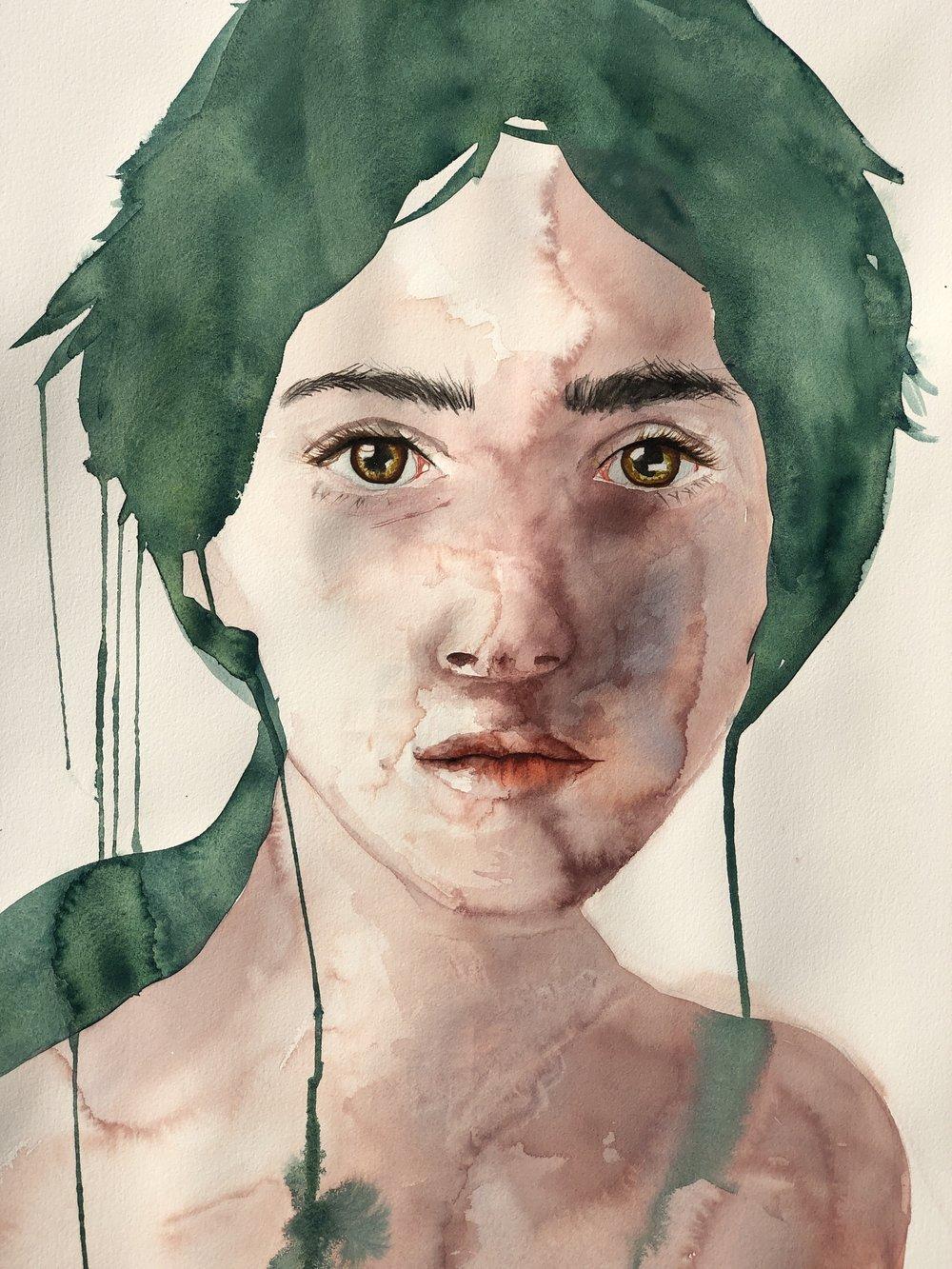 medium  Alisha Rich  Watercolour  640 gsm paper 560mm x 760mm