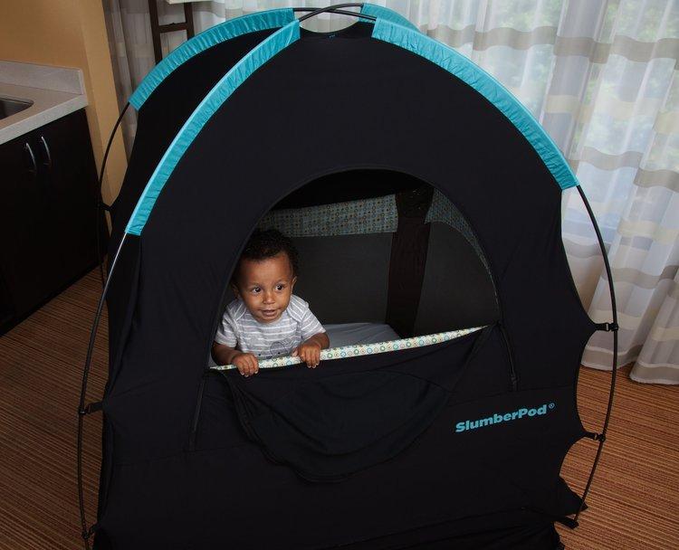 SlumberPod Sleep System. Helps your baby get quality sleep, anywhere.