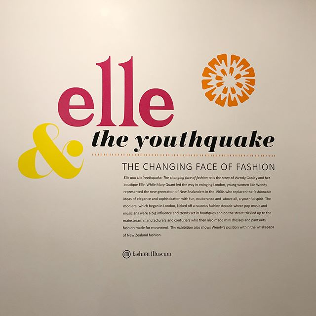 I've just been to the Elle & the Youthquake exhibition @waikatomuseum  If you love fashion and haven't been you should go. It's a small collection but beautiful and a reminder that good quality clothes are made to last.  Buying less means that you can invest in high quality, beautifully crafted garments that won't date. There are some modern garments including the three Beth Ellery pieces which are in her current collection. See the last two images. Black is difficult to capture but these are lovely (that black dress on the left has sizeable pockets - always a bonus) and I gather her current collection is being stocked here in Hamilton @bustle_river_rd 😍 . #fashionisart #1960sfashion #elleboutiquehamilton #youthquake #elleandtheyouthquake #bethellery