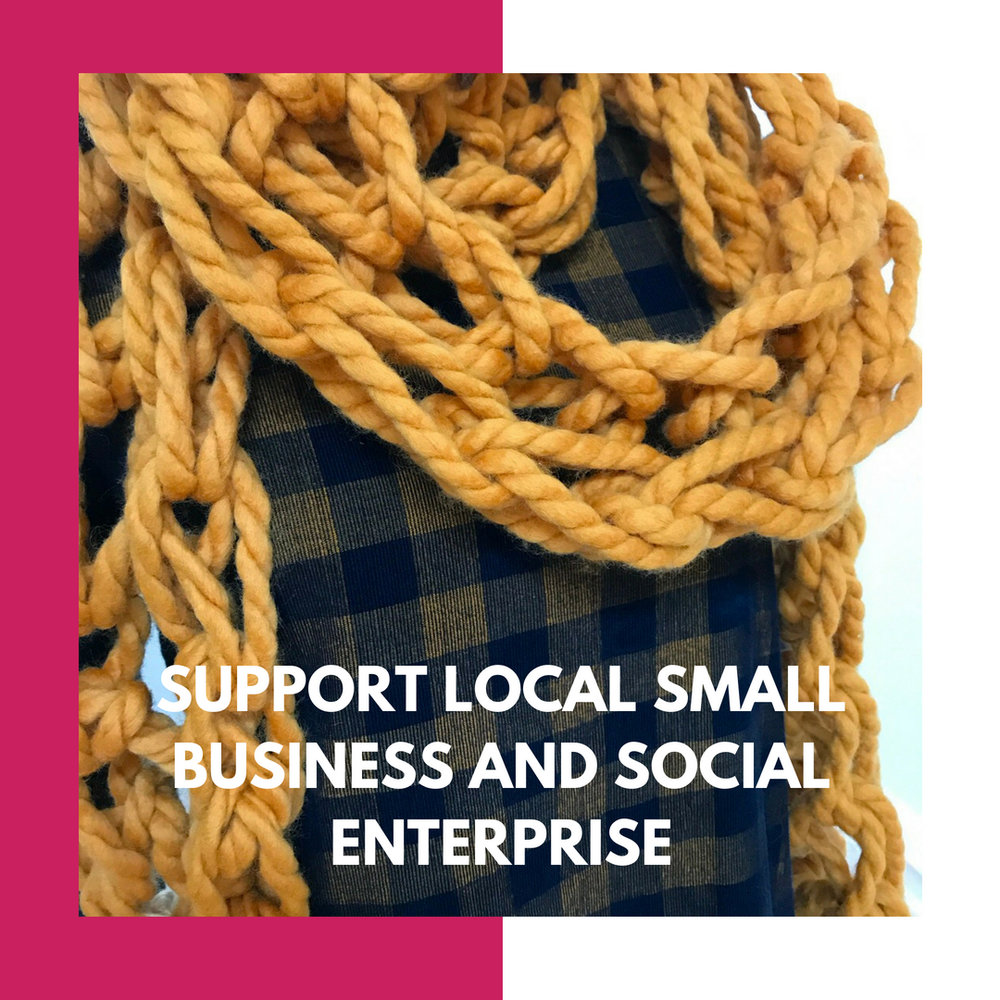 Support local small business and social enterprise