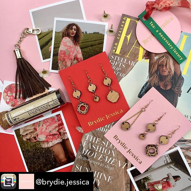 Check out the giveaway competition over on the @brydie.jessica account. I'm in love with her collection, and those earrings 😍