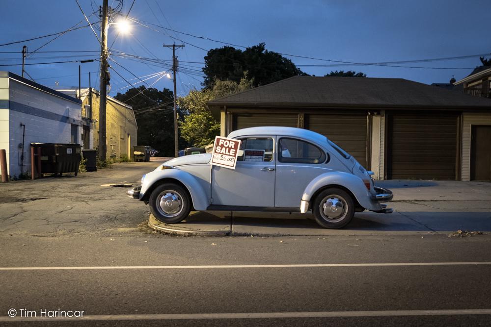 Bug For Sale © 2018 Tim Harincar
