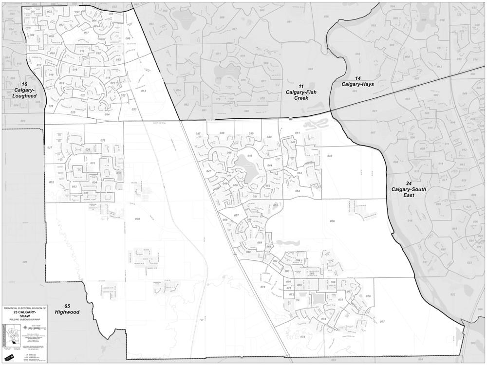 Calgary-Shaw-Map