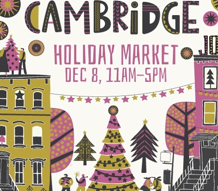 So excited to be a vendor at the Cambridge Holiday Market this year on Saturday, December 8th! I'll be serving up all the seasonal vegan treats! Shop small this holiday season!🎁🎄❤️