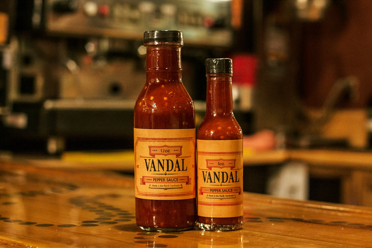 Vandal Pepper Sauce - What hot sauce do we at Irish Spike's Hot Sauce eat when we aren't eating our own? THIS IS THE SAUCE! It has all of the great umami and depth of flavor of a fermented sauce, but it doesn't rest on its laurels. It has a nice kick of lemon and vinegar brighten and balance. We can't recommend it enough!Check it out here: https://www.vandalpeppersauce.com