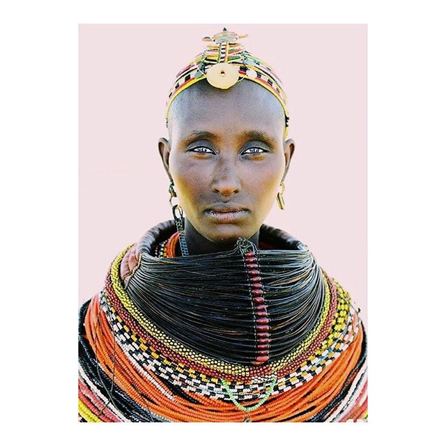A beautiful Turkana woman of Kenya poses in ceremonial regalia. Her ornate and opulent necklace, headpiece, and earrings leave no doubt as to her social status. Like the Maasai, the Turkana pastoral tribe values beauty and bodily adornment. They are masters at beadwork and traditional crafts . . . . . . #makersmovement #makersofinstagram #handsandhustle #shophandmade #etsyfashionhunter #makersgonnamake #slowmade #showmeyourearrings #westcoastcraft #handmadejewerly #newenglandlife #newenglandliving #followingboston #southshoreliving #coastalliving #nantucketstyle #naturalmassachusetts #thatsdarling #pursuepretty #prettylittlethings #femalenotfactory #makermovement #slowfashion #madebywomen #womensupportingwomen #madebyhand #inthecompanyofwomen #futureisfemale #shopsmall #shoplocal
