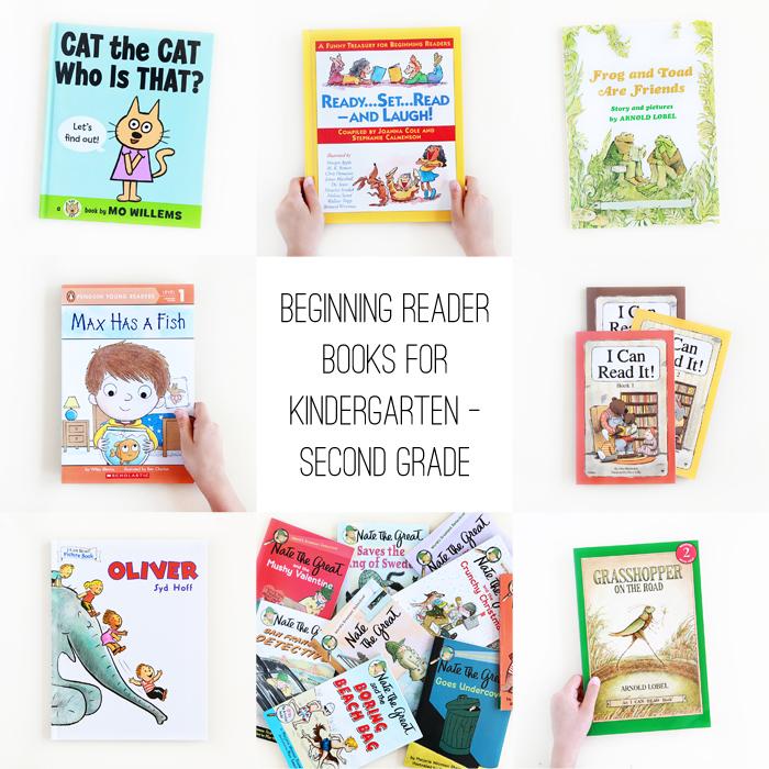 Beginning Reader Books for Kindergarten Through Second Grade — Avery ...