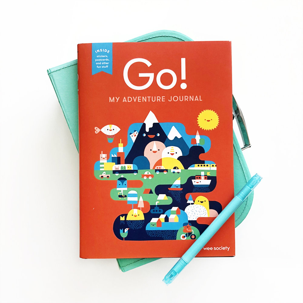 Go! My Adventure Journal from Wee Society + Giveaway | Avery and Augustine
