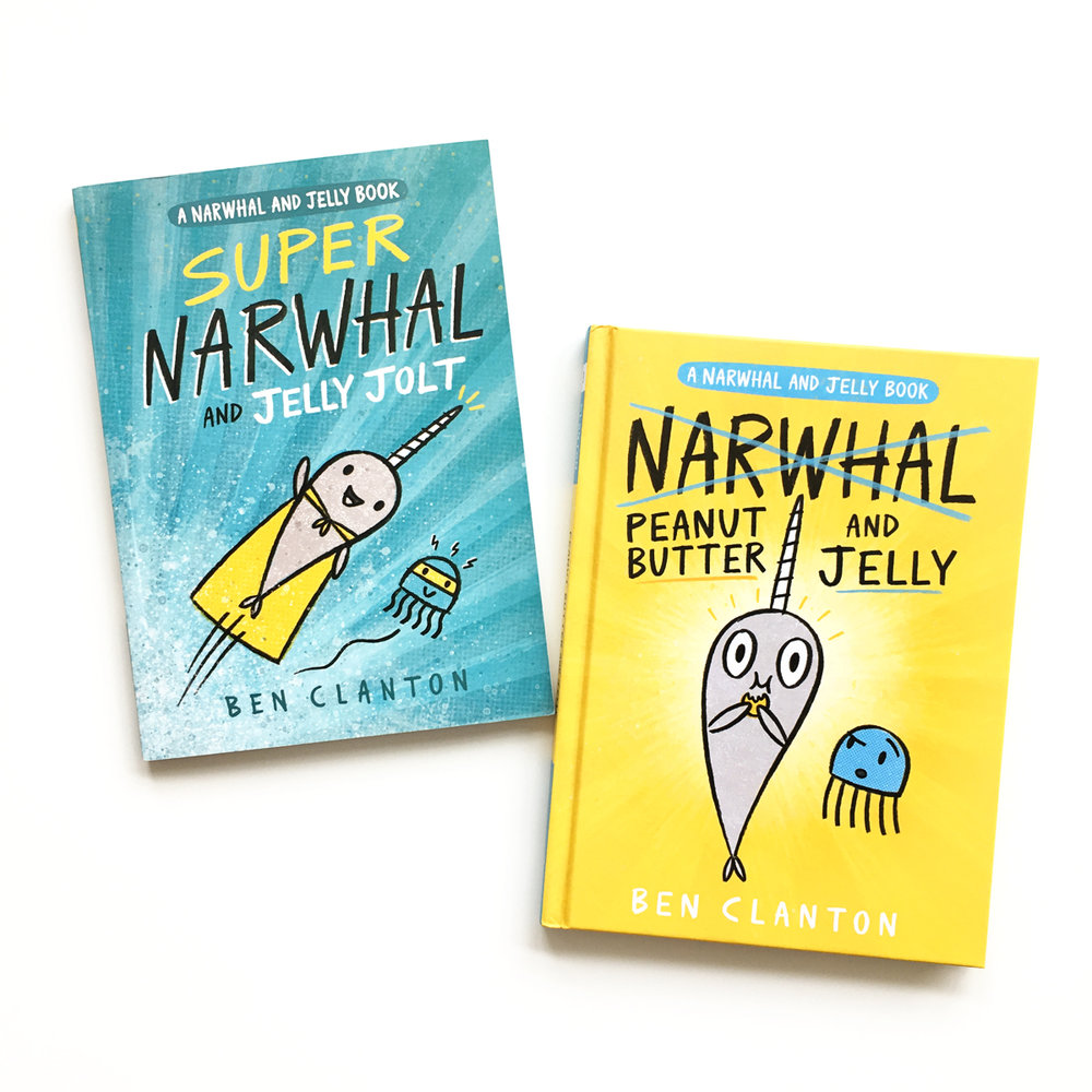 Peanut Butter and Jelly (A Narwhal and Jelly Book #3) | Avery and Augustine