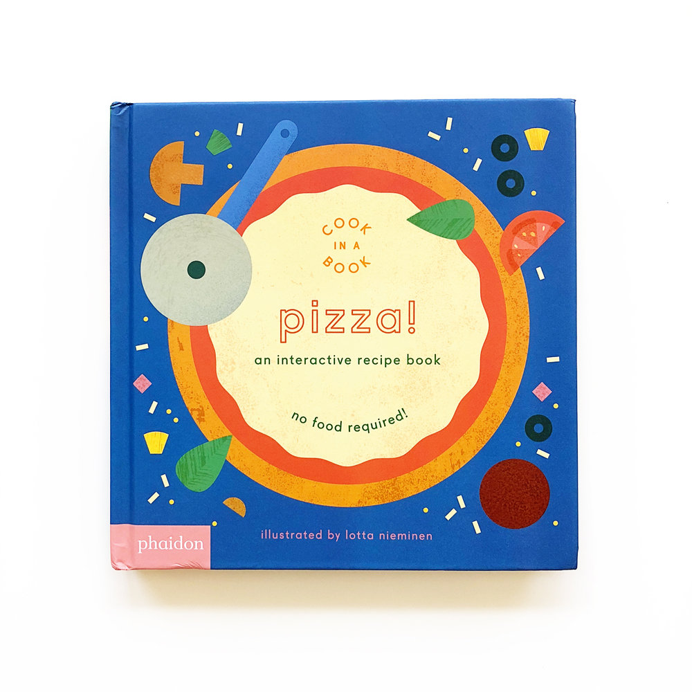 Pizza!: An Interactive Recipe Book | Avery and Augustine