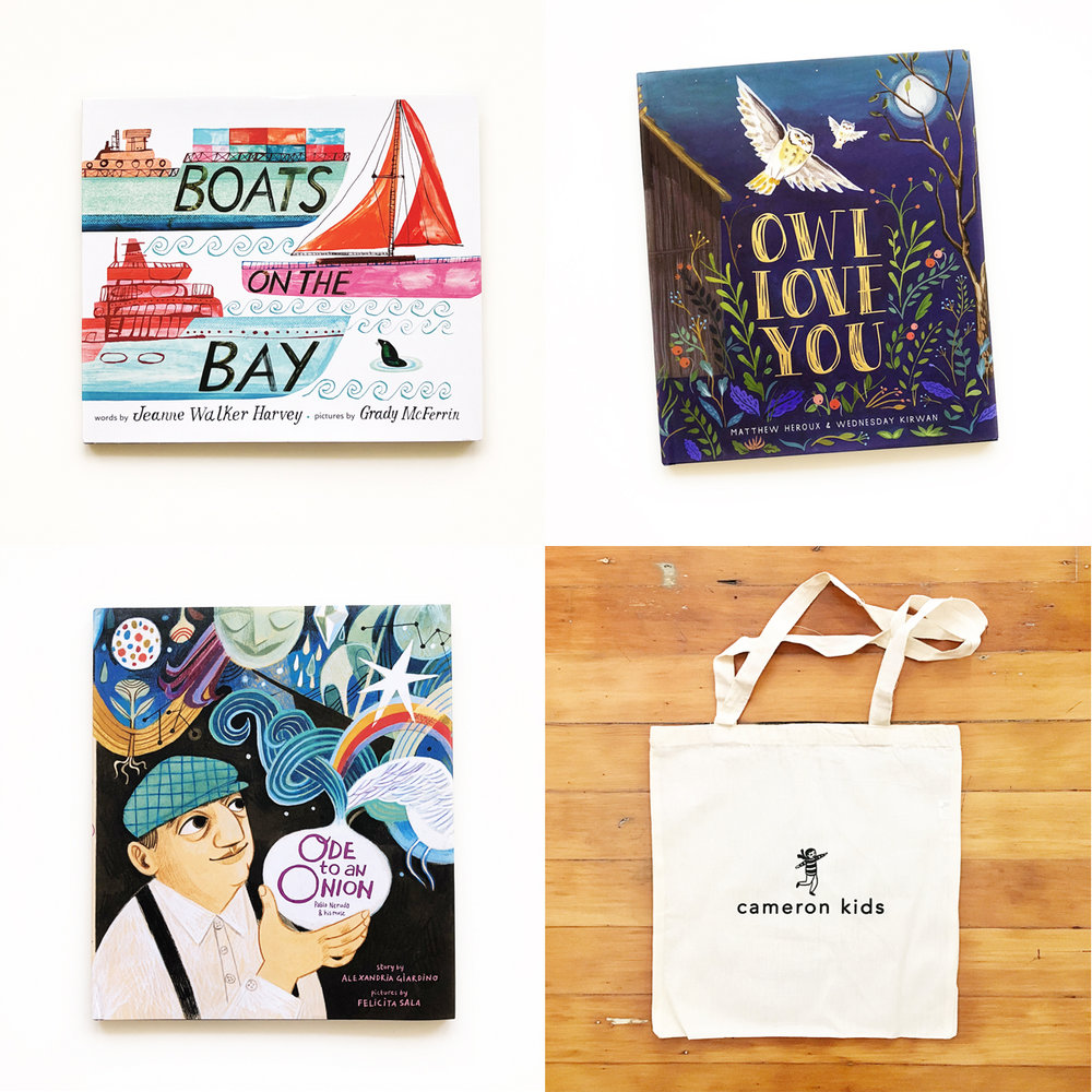 Cameron Books Fall Giveaway | Avery and Augustine