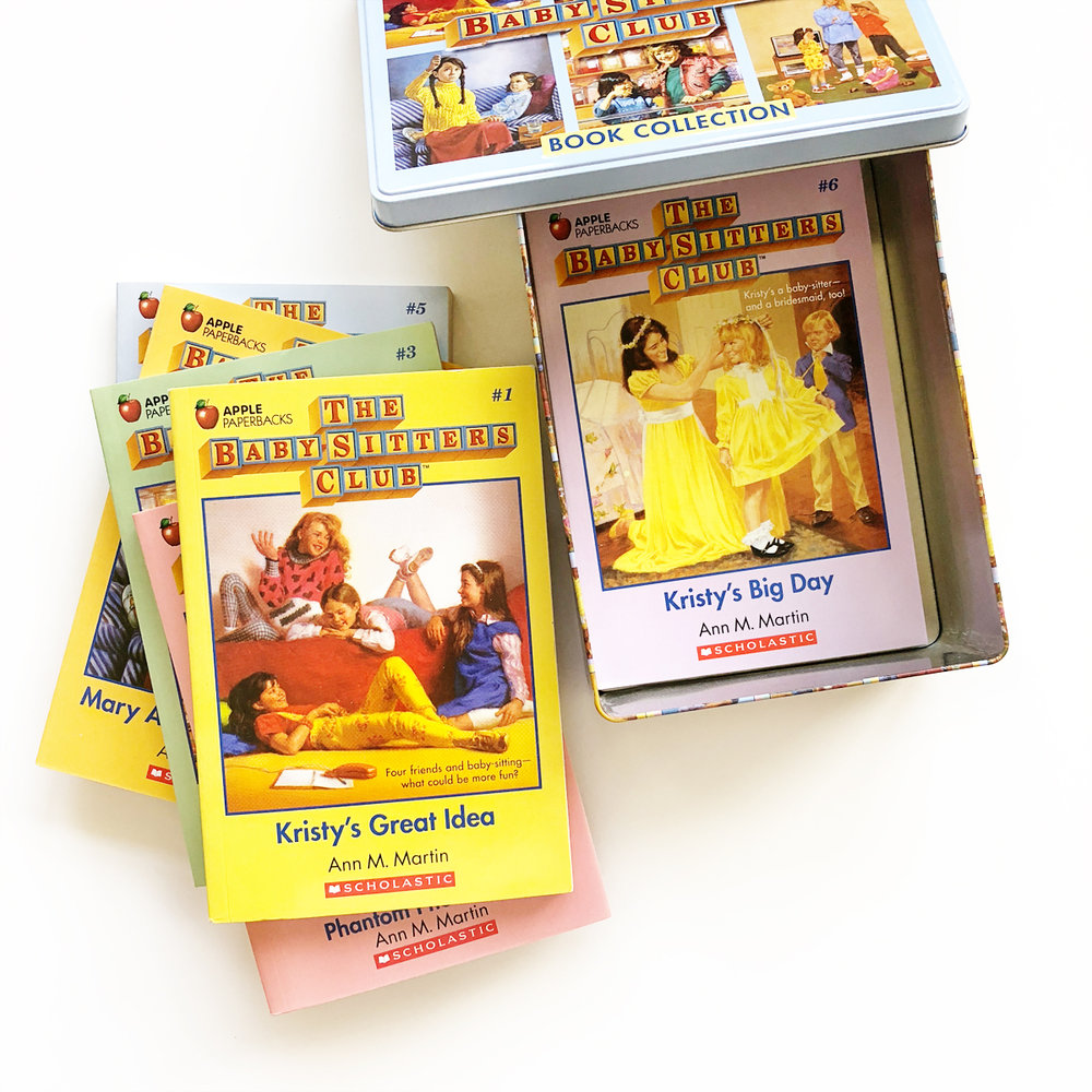 The Baby-Sitters Club Retro Set | Avery and Augustine