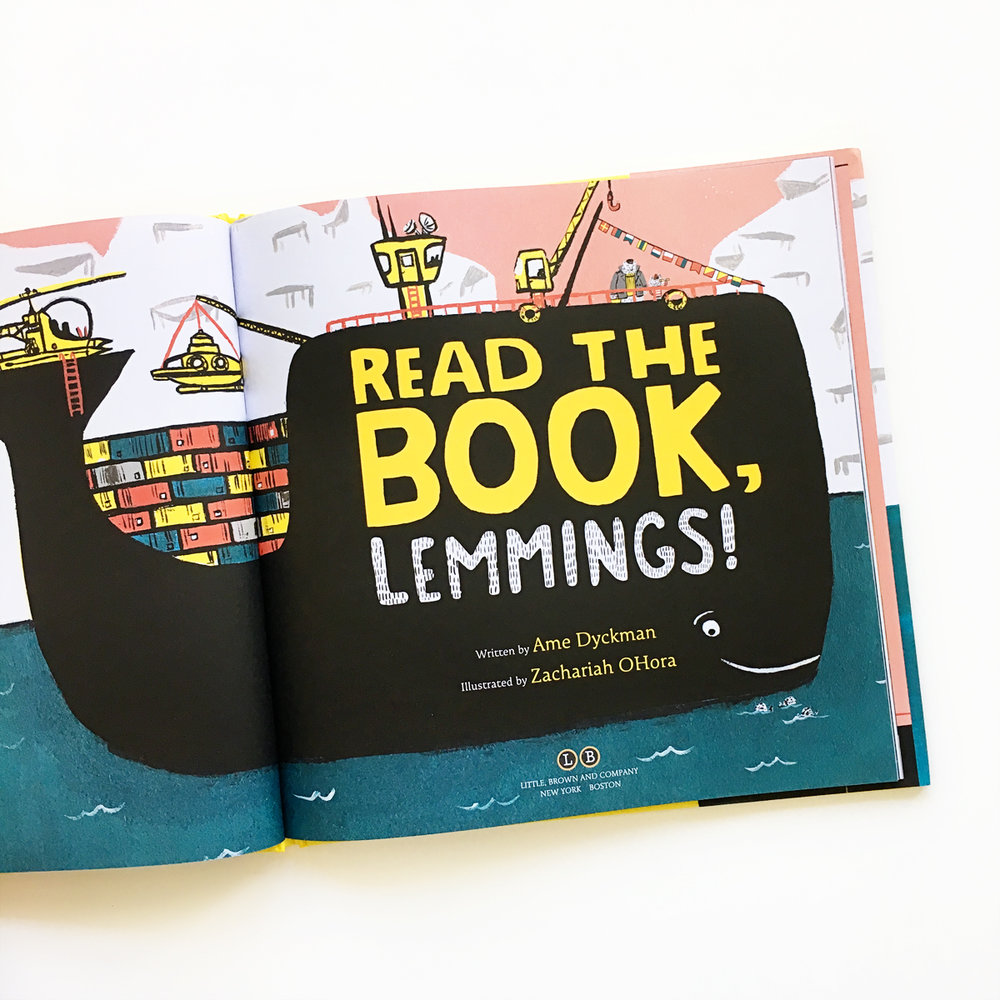Read the Book Lemmings | Avery and Augustine