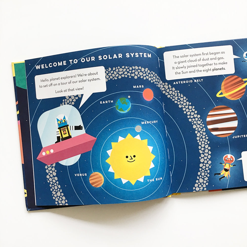 Professor Astro Cat's Solar System | Avery and Augustine