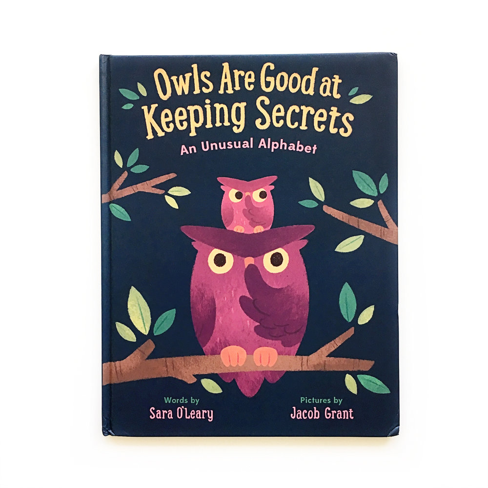 Owls Are Good at Keeping Secrets: An Unusual Alphabet | Avery and Augustine
