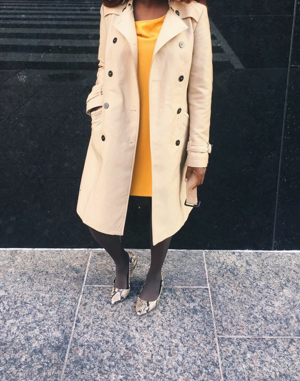 Working Woman Wednesday: Workplace Style on the Go - For those running-late days.