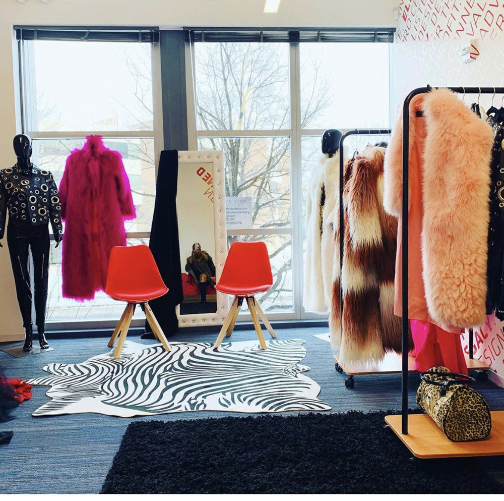 The Dur Doux showroom at the Wharf in SW Washington, D.C.