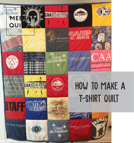 The inside scoop. - Everything you need to know to make your first T-Shirt Quilt!