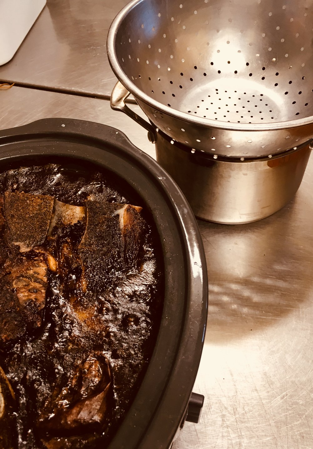 Strainer is ready
