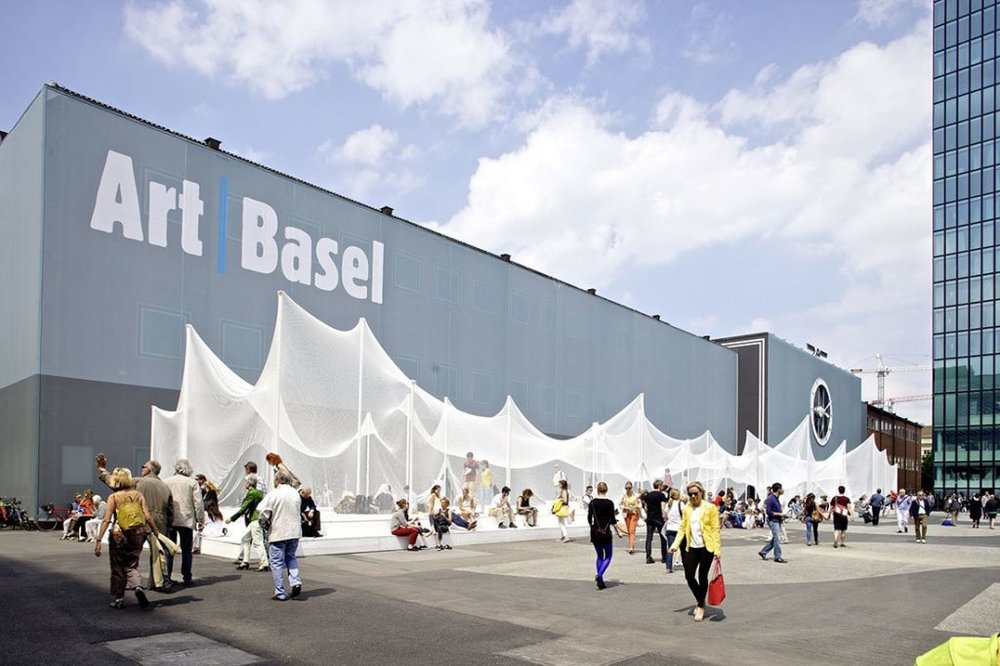 Art Basel, 2018. From    MySwitzerland   .