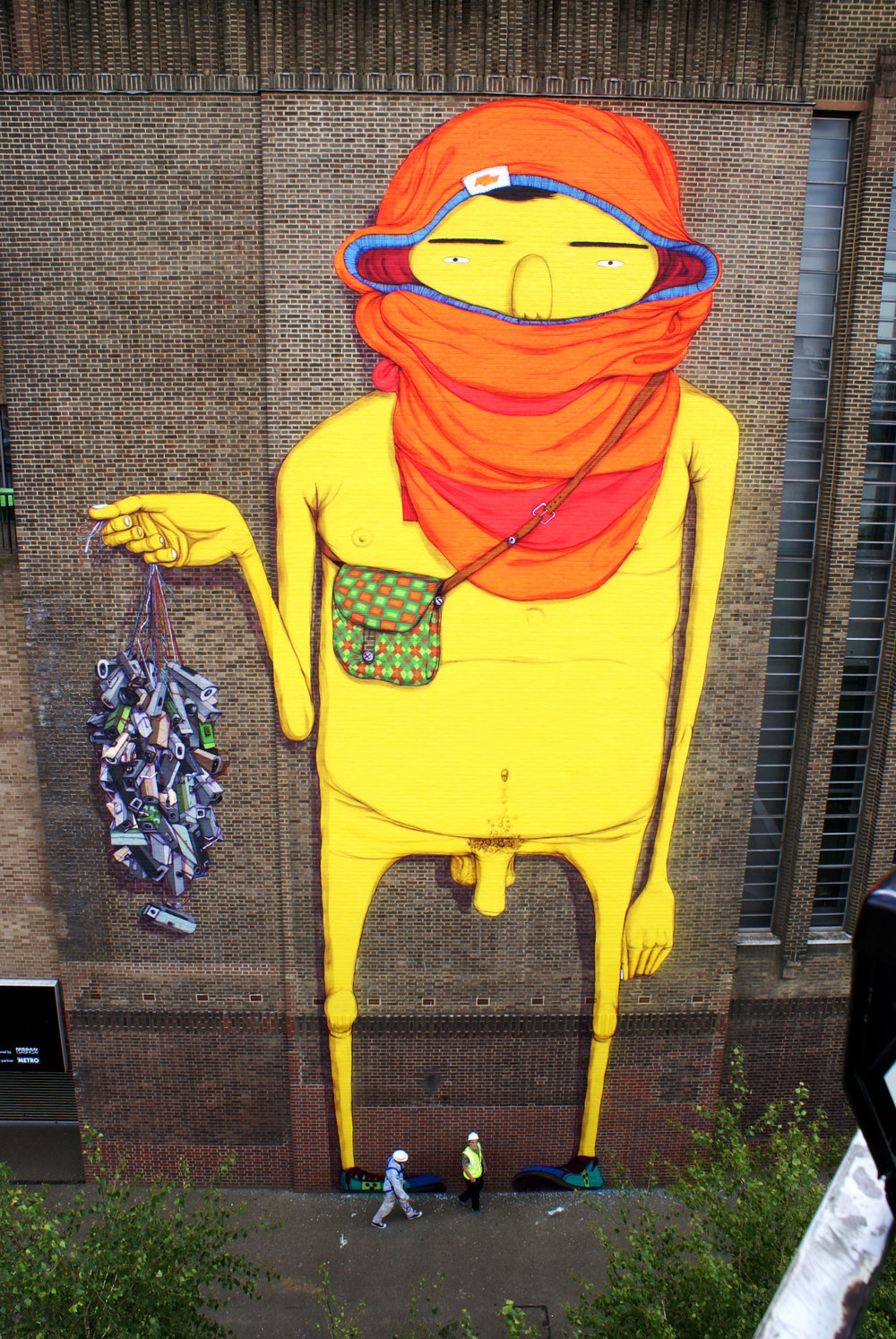 Image from  OSGEMEOS