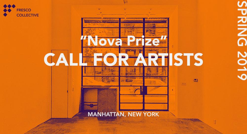 Nova Prize Call for Artist, 2019.jpg
