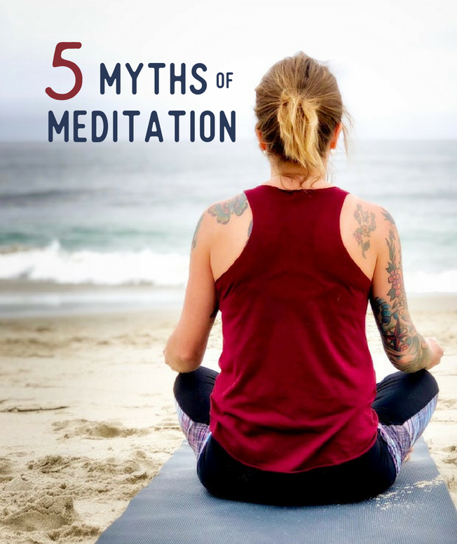 5 Myths of Meditation