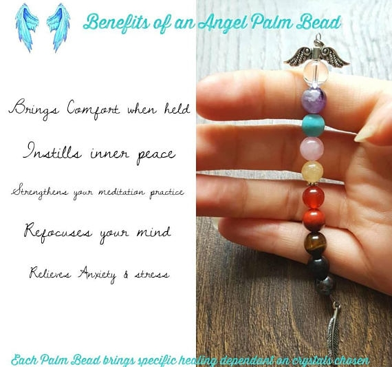 Tracy recommends that you Meditate either daily or weekly with your beads and intention.