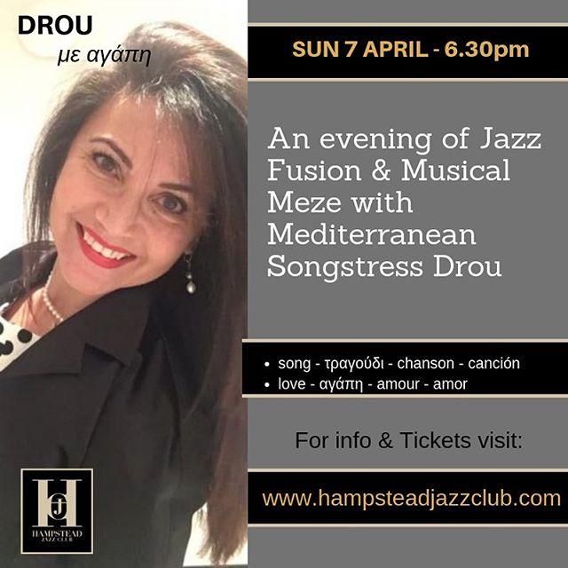 Tune in to Hellenictv.net or freeview 264 this Sun 17 @8.15pm to hear about my Jazz Journey into English/Greek! Catch me @hjcjazzclub on Sun 7 April. Tix at: www.hampsteadjazzclub.com @lateralizeltd @laraeidimusic @jazzfmuk @londonjazznews @londonjazznow @londonjazzfest @womenin_jazz @spicejazzsoho @officialronnies @jazzfmuk @jazzfest @netmums @mumsnet @visithampstead @hampsteadmums @my_hampstead @liveandlovemusicuk @londonlivemusic @seriouslivemusic @visitlondon @timeoutlondon @jazzlondonlive @greekgateway @greeksconnect @worldwidegreeks @hellenic_tv @londongreekradio @gapgreekandproud @alphatv @alphatvcyprus @skaitv.gr @ant1tv @mega.tv #musicians #jazz #jazzsinger #live #livejazz #jazzlive #jazzclub #show #event #events #performer #entertainer #liveevents #liveshow #greek #cypriot #cyprus #greece #french #spanish #songs #songwriter #jazzfusion #hampstead #northlondon #london #whatsonlondon