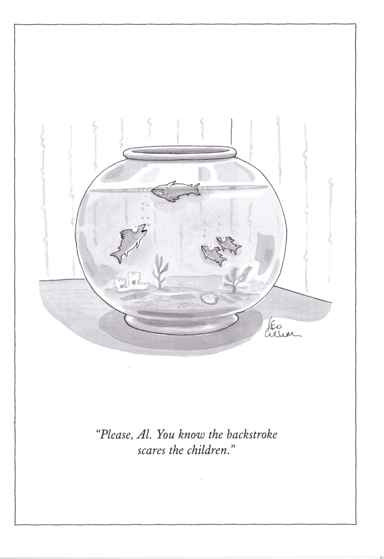 """""""PLEASE, AL. YOU KNOW THE BACKSTROKE SCARES THE CHILDREN."""" BY LEO CULLUM PUBLISHED 28 JULY, 1997"""
