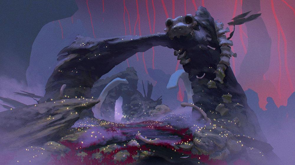 Stegosaurus Arch