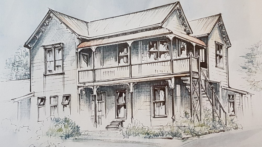 Sketch of Braemar House
