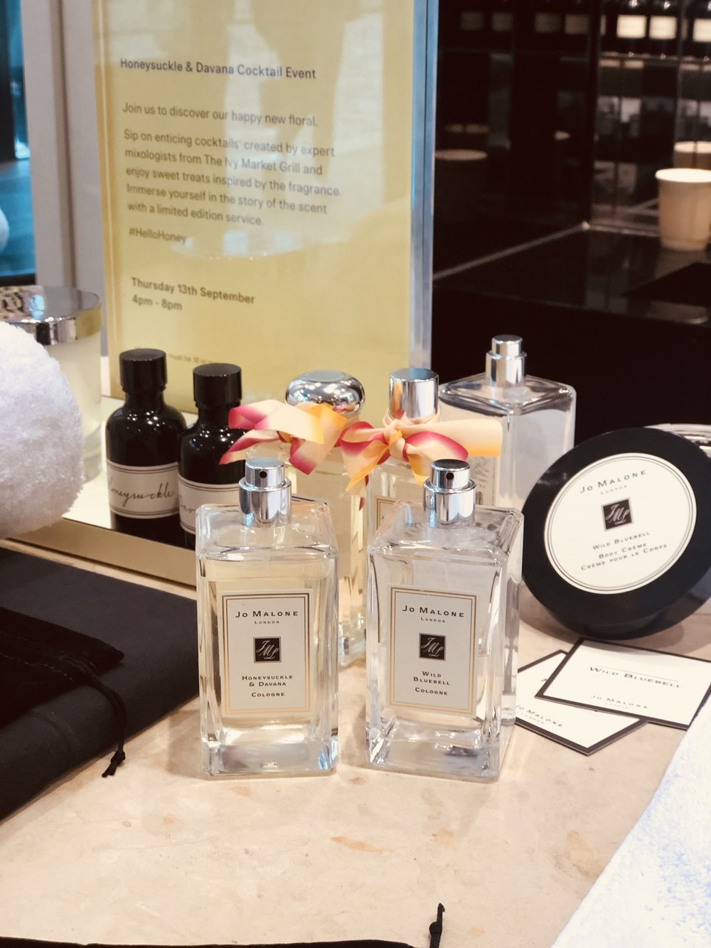 Jo Malone: Pampering Session