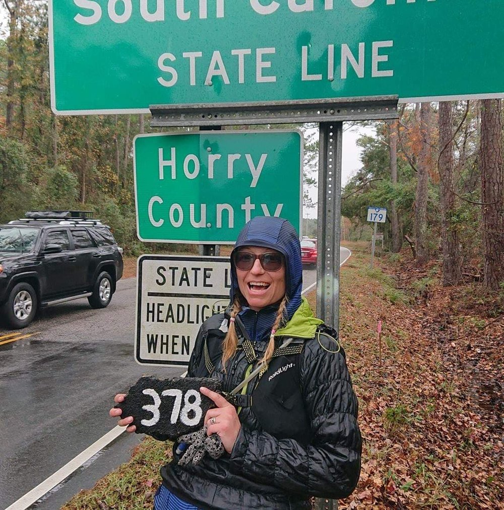 Maryka Hladki - Maryka has completed for Canada three times at the the 24 hour world championships. She has finished the Last Annual Vol state in the screwed category and recently completed the Tar Heel ultra 378 mile solo journey in the state of North Carolina