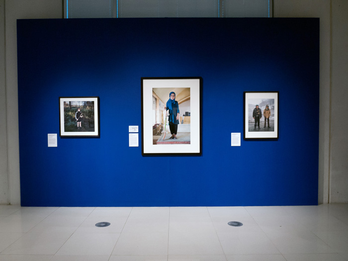 Margaret Mitchell Install shot Taylor Wessing Photo