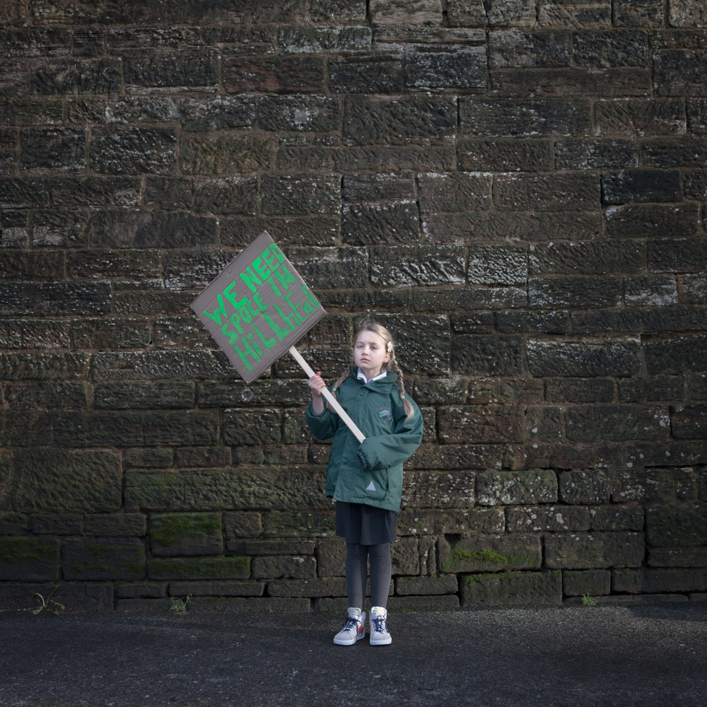 Young Activist – Katy at the 'Dead Wall'