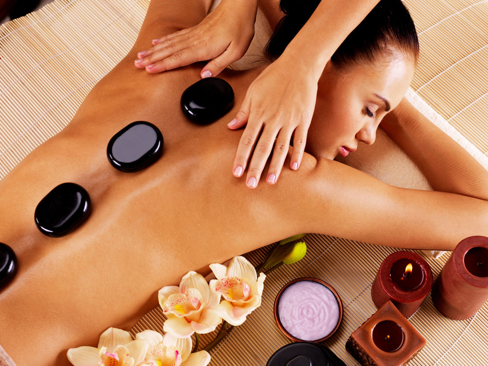 Warm (Hot) Basalt Stone Massage