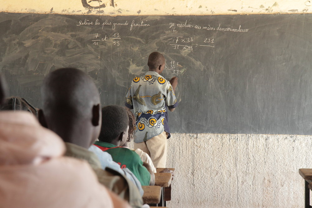 EDUCATION - We empower teachers and equio students to increase success rate with the necessary supplies and trainings.