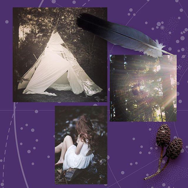 Innerctrl 18 Year: #trends2018 Details: #purple #moodboard #spirituality #jungle  Thank you: #erratico #trend @eric.camp