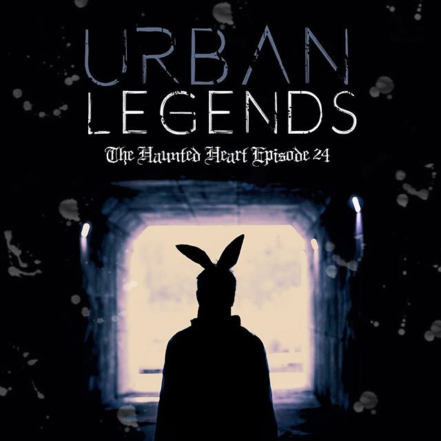 Surprise, surprise! We've got a BRAND NEW EPISODE of #thehauntedheartpodcast for you this morning! Buckle up, kids, cause we're discussing our FAVORITE Urban Legends this week! Good luck sleeping after this…🖤🖤 . . . . #thehauntedheartpodcast #thehauntedheart #trashtalent #podcast #podlife #spookycast #horror #creepy #spooky #scary #truecrime #truecrimecommunity #murder #serialkillers #killers #wicca #wiccan #witchesofinstagram #witches #witchcraft #macabre #death #urbanlegends #bunnyman #creepypasta