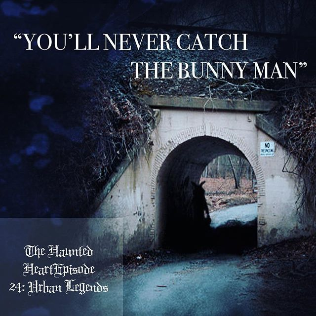 have you listened to our new episode on urban legends yet? check us out now on @iTunes @Stitcher @Spotify @GooglePlayMusic and anywhere else you listen to podcasts! 🖤🖤 . . . #thehauntedheartpodcast #thehauntedheart #trashtalent #podcast #podlife #spookycast #horror #creepy #spooky #scary #truecrime #truecrimecommunity #murder #serialkillers #killers #wicca #wiccan #witchesofinstagram #witches #witchcraft #macabre #death #bunnyman #bunnymanbridge #urbanlegends #creepypasta