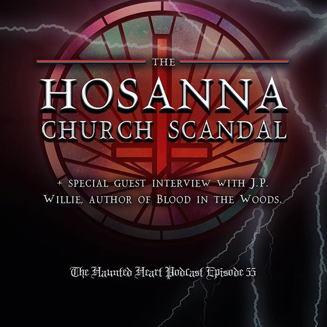 Join us for a very special episode this week where we discuss one of the worst scandals in Louisiana history: the Hosanna Church scandal. And afterwards, we interview indie horror writer/director, J.P. Willie about his spooky novel inspired by the scandal, Blood in the Woods. 🔪♥️ . . . #thehauntedheartpodcast #thehauntedheart #podcast #stayspooky #trashtalent #spooky #scary #creepy #horror #macabre #goth #gothic #witchcraft #witchesofinstagram #wicca #truecrime #killers #serialkillers #crime