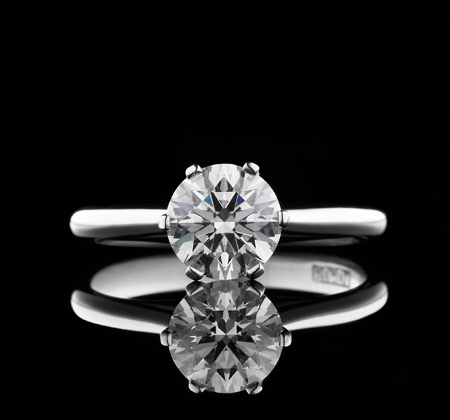 Bunda Solitaire Diamond Ring