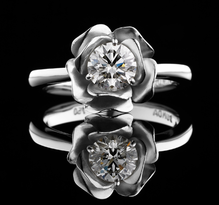BUNDA Rose Diamond Ring