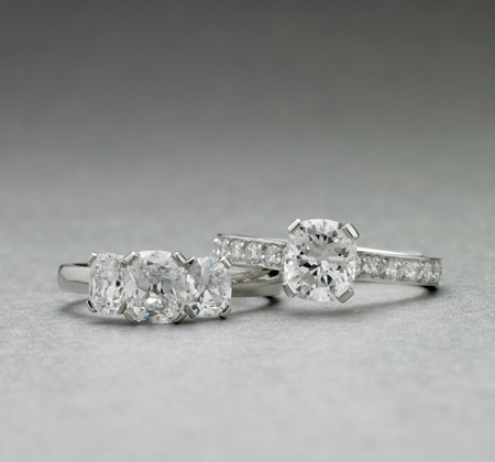 BUNDA Tryphena and Estella Diamond Rings