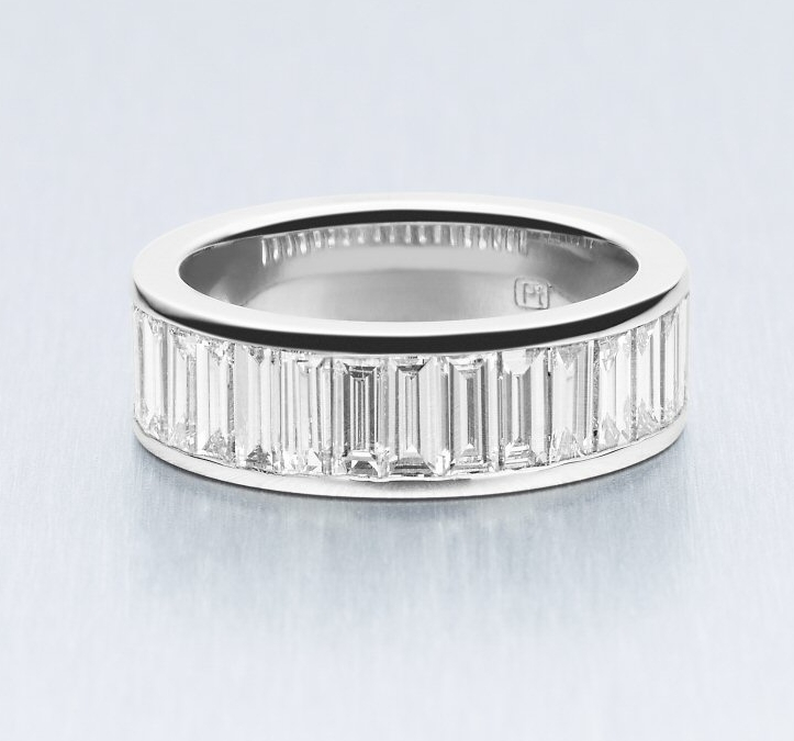BUNDA Baguette Lovers Eternity Ring