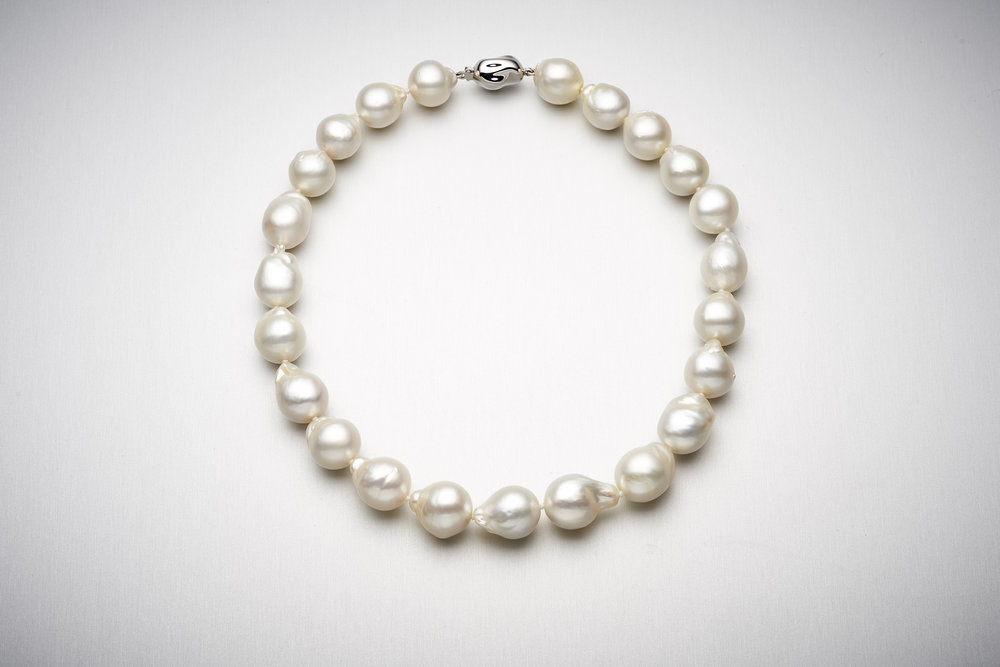 BUNDA Barouque South Sea Pearl Strand