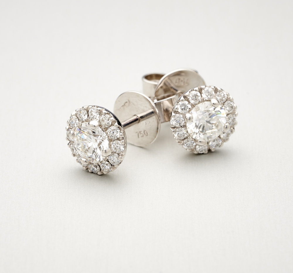 BUNDA Valentin Diamond Earrings $7,500